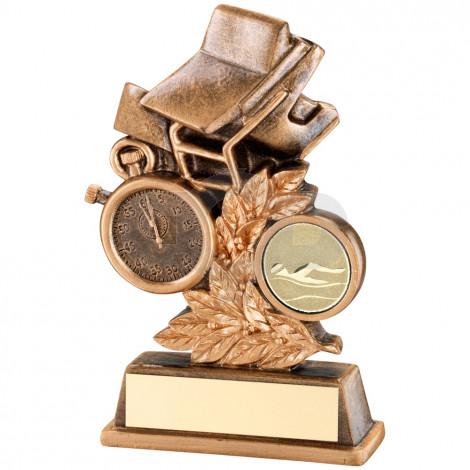 Swimming Leaf Plaque Trophy