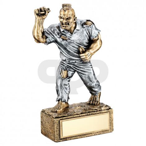 Bronze & Pewter Darts 'Beasts' Figure Trophy