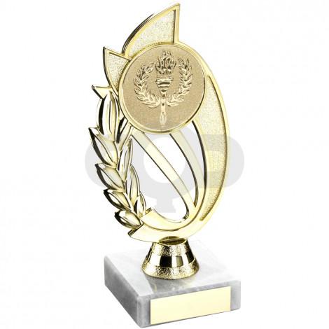 Plastic Holder On Marble Trophy