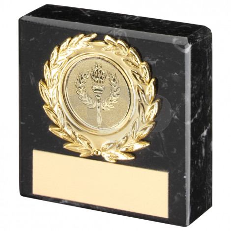 Black Marble & Trim Trophy