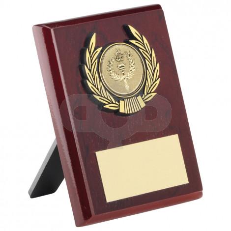 Rosewood Plaque & Trim Trophy