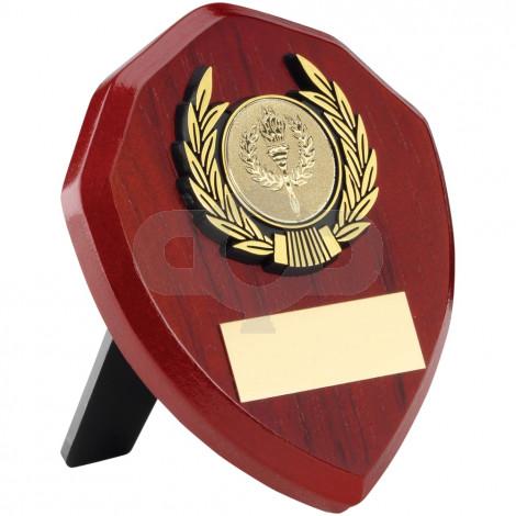 Rosewood Shield & Trim Trophy