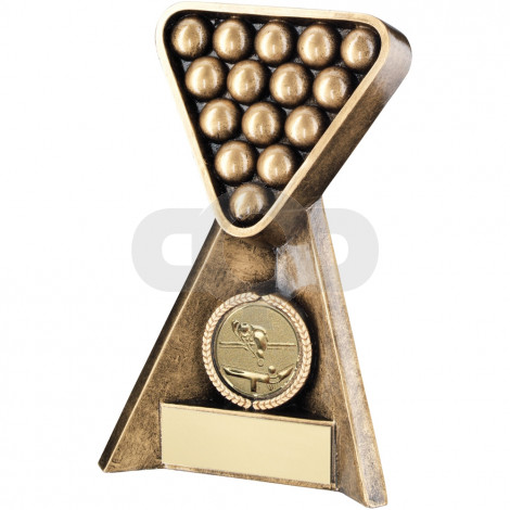 Pool/Snooker Pyramid Trophy