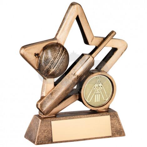 Resin Cricket Mini Star Trophy
