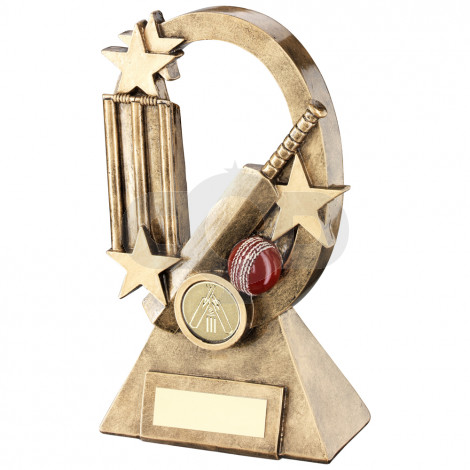 Cricket Oval Stars Series Trophy