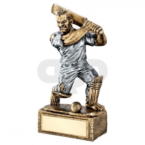 Bronze & Pewter Cricket 'Beasts' Figure Trophy