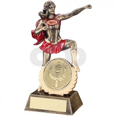 Generic Female 'Hero' Trophy