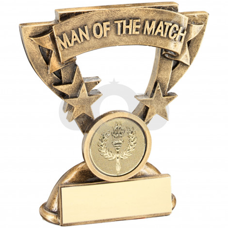Man Of The Match Mini Cup Trophy