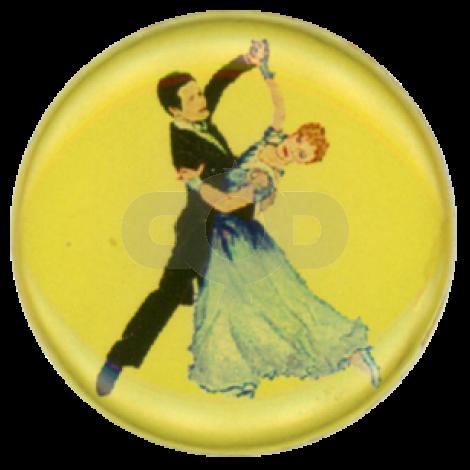 Ballroom Dancers centre - Acrylic