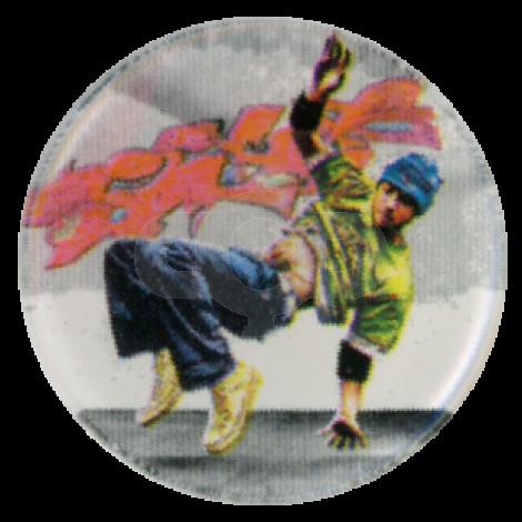 Street Dancer centre - Acrylic