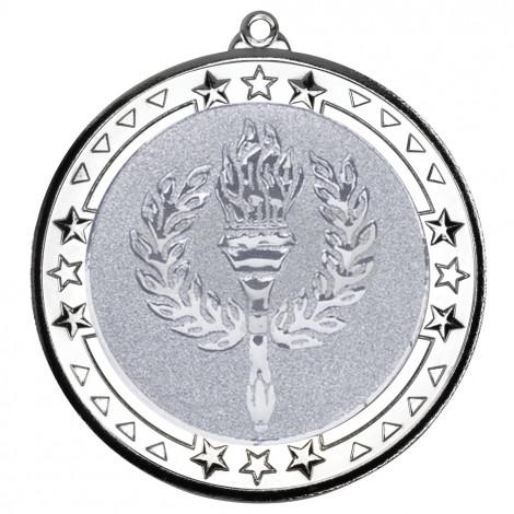70mm Tri Star' Medal