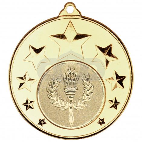 Multi Star Medal  - Gold