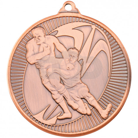 50mm Rugby 'Multi Line' Medal