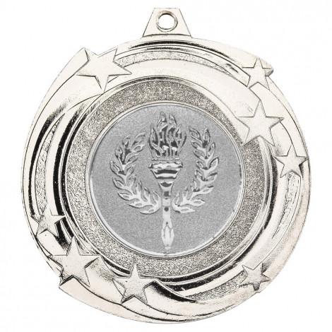 Star Cyclone Medal - Silver