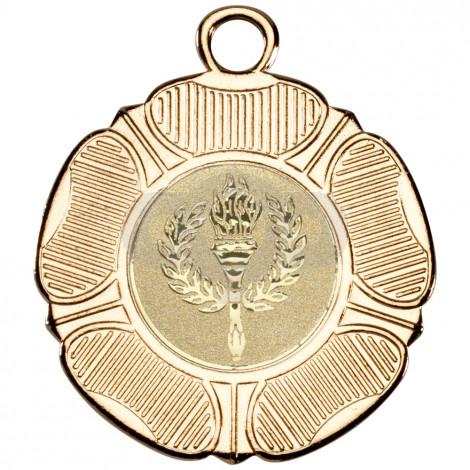 50mm Tudor Rose Medal