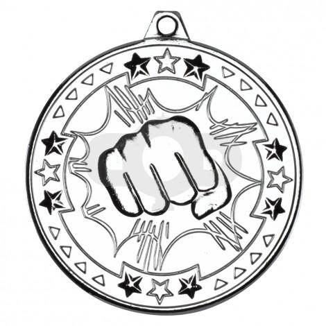 50mm Martial Arts 'Tri Star' Medal