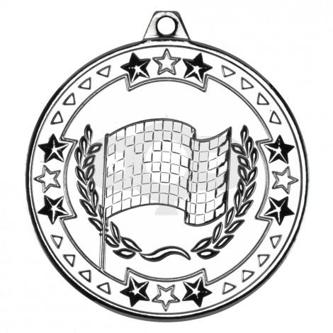 50mm Motor Sport 'Tri Star' Medal