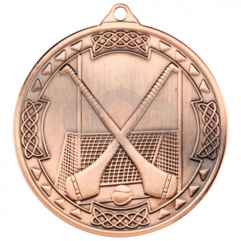 50mm Hurling Celtic Medal