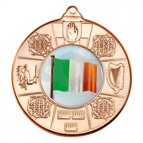 50mm Irish Four Provinces Medal