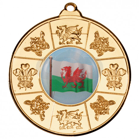 50mm Wales Medal