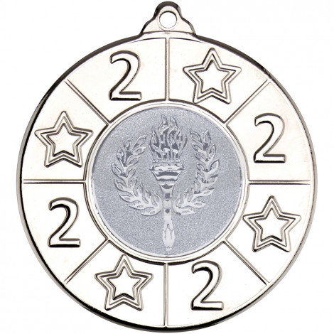 4 Star 2nd place Silver Medal