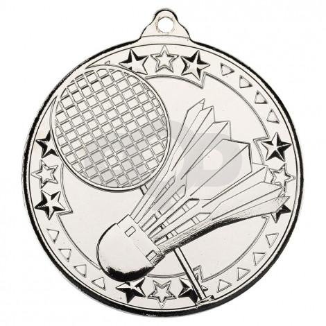 Badminton 'Tri Star' Medal - Silver