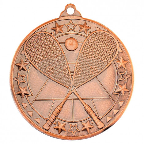 Squash 'Tri Star' Medal - Bronze
