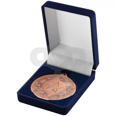 Deluxe Blue Medal Box