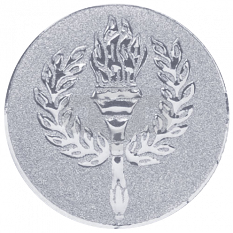 Victory torch centre - Silver