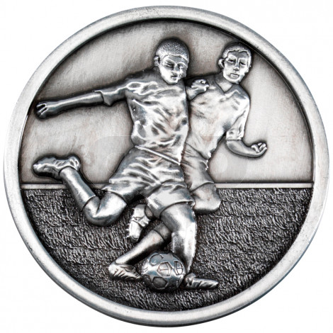70mm Football Players Medallion