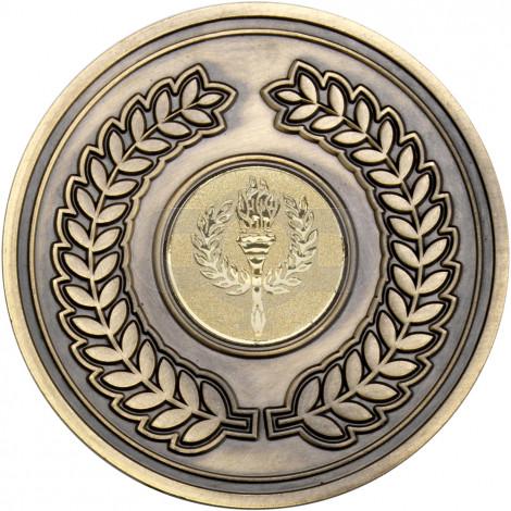 Wreath Medallion Antique Gold
