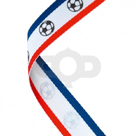 Red, White & Blue Football Ribbon