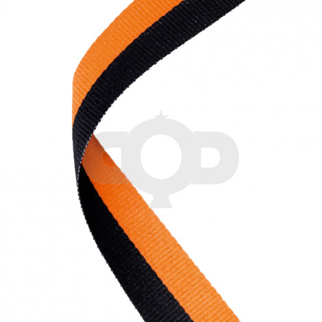 Black & Orange Ribbon
