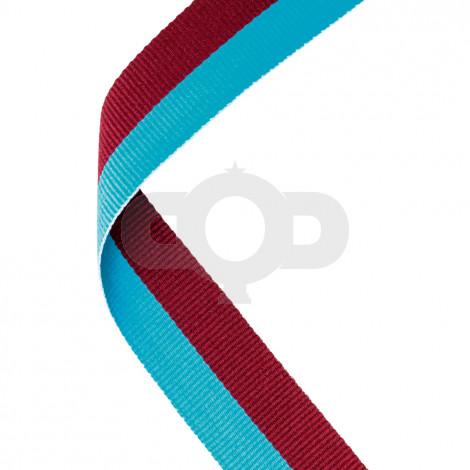 Claret & Blue Ribbon