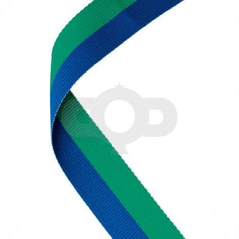 Green & Blue Ribbon