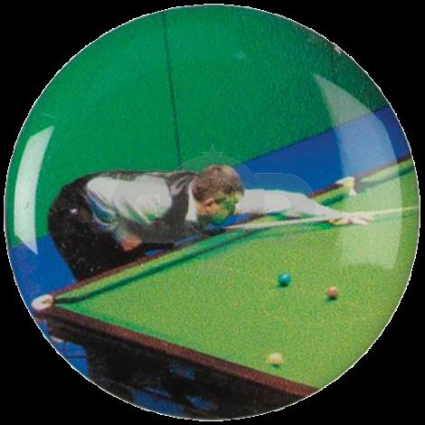 Snooker Player centre - Acrylic