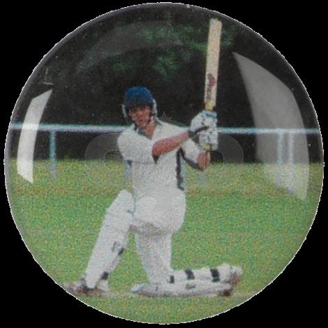Cricket Batsman centre - Acrylic