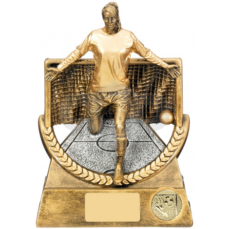 Super Triumph Female Football Trophy