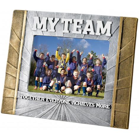 "My Team 6"" X 4"" Photo Frame"