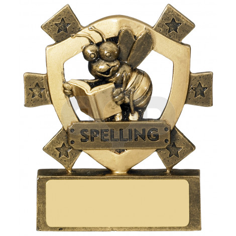 Spelling Mini Shield Award