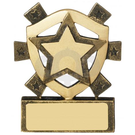 Star Mini Shield Award