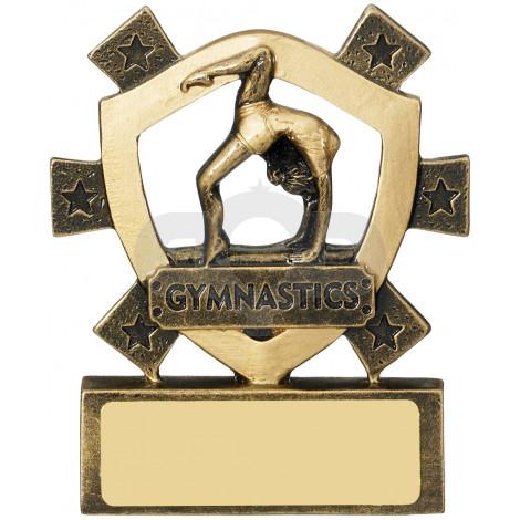 Female Gymnastics Mini Shield