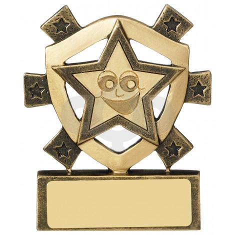 Smiley Star Mini Shield