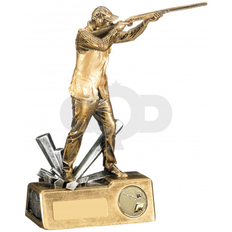 Male Clay Shooting Trophy