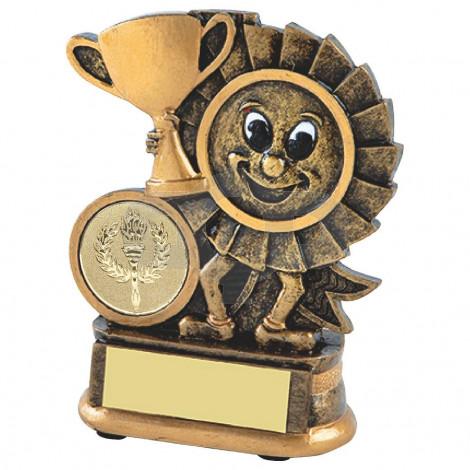 Resin Happy Winner Rosette Award
