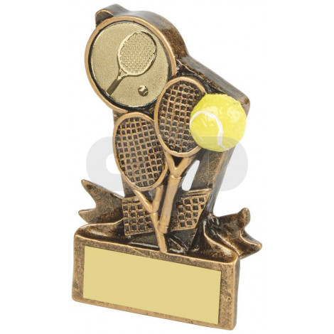Resin Tennis Trophy