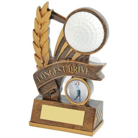Resin Longest Drive Golf Award