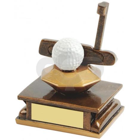 Resin Golf Club Award - Putter
