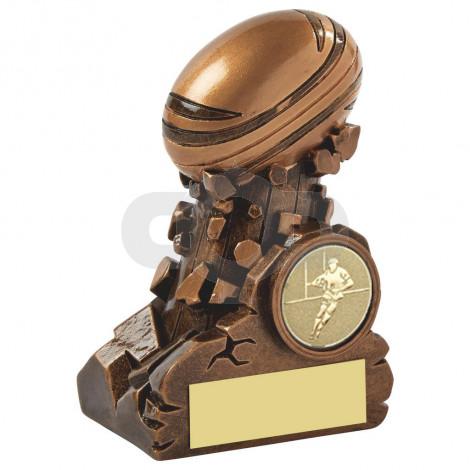 Resin Column Rugby Ball Award