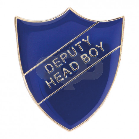 Deputy Head Boy Enamel Shield Badge